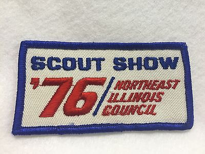 Boy Scouts - 1976 Northeast Illinois Council Scout Show patch