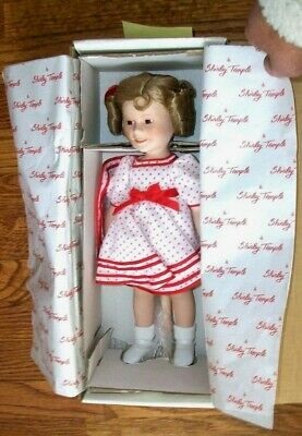 "Shirley Temple Stand Up & Cheer Danbury Mint Doll 12-14"" DollsOf theSilverScreen"
