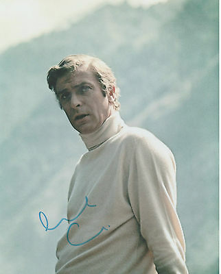THE ITALIAN JOB  personally signed 10x8 - MICHAEL CAINE