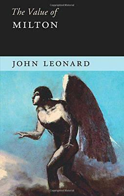 The Value of Milton by Leonard, John | Paperback Book | 9781107664791 | NEW
