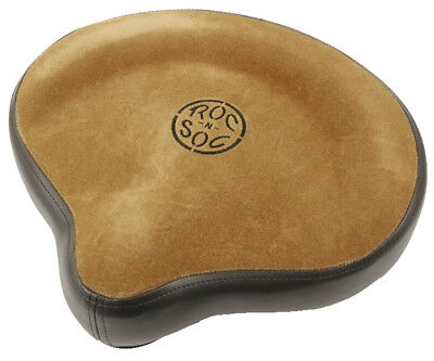 Roc n Soc Drum Stool Throne Cycle Seat Top TAN