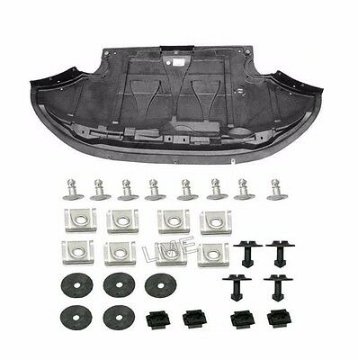 Audi a6 Quattro Engine Protection Pan with Hardware front deflector undershield
