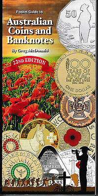 2015 Catalogue to Australian Coins and Banknotes, 22nd Edition by Greg McDonald