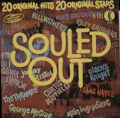 VARIOUS Souled Out 1975 UK vinyl LP EXCELLENT CONDITION RECORD