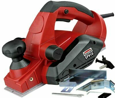 Electric Handheld Power Planer 240v with 82mm Wood Planing Width