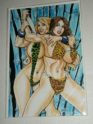 Amryl Cavewoman NATURAL SELECTION #2 Devon Massey Special Edition Variant NM