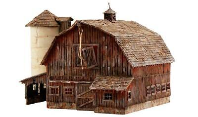 Woodland Scenics PF5211 Rustic Barn N Train Building Kit