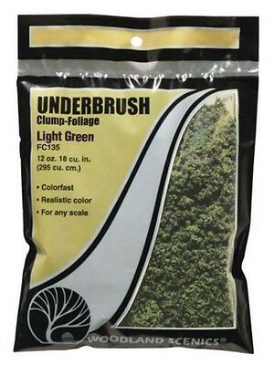 Woodland Scenics Underbrush Clump Foliage Light Green FC135