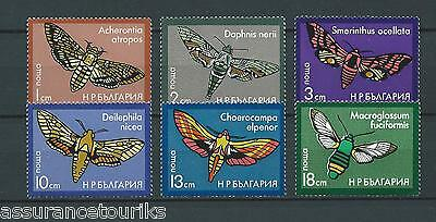 BULGARIE PAPILLONS - 1975 YT 2163 à 2068 - TIMBRES NEUFS** LUXE