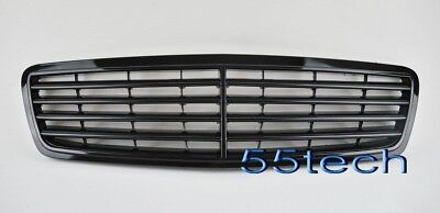 Mercedes Benz W203 C230 C320 C280 Glossy Black Grille Grill STOCK STYLE  SBKOEM