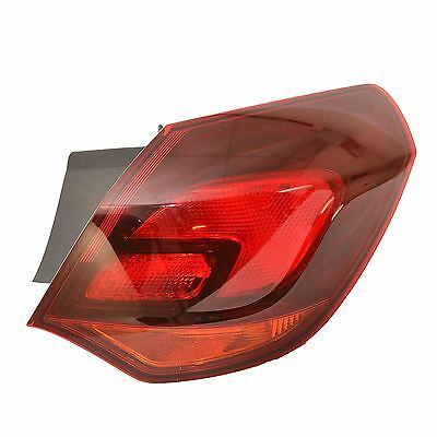 Vauxhall Astra J Mk6 1/2010-> 5Dr Hatch Rear Tail Light Drivers Side O/s