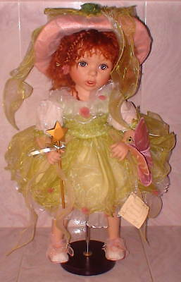 """NIB Porcelain Doll New Starr 22"""" Limited Edition Retired Pc New"""