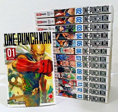 manga ONE-PUNCH MAN N. 1-2-3-4-5-6-7 - nuovo panini planet manga italiano