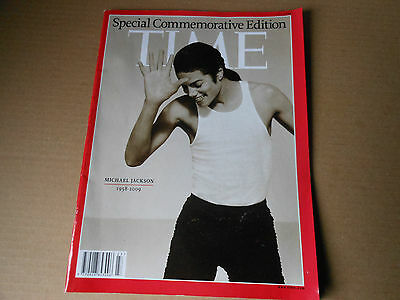 TIME special commemorative edition MICHAEL JACKSON 1958-2009