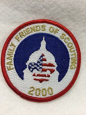 Boy Scouts - 2000 Family Friends of Scouting patch