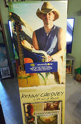 Kenny Chesney Life On A Rock Lifesize Promo Standee