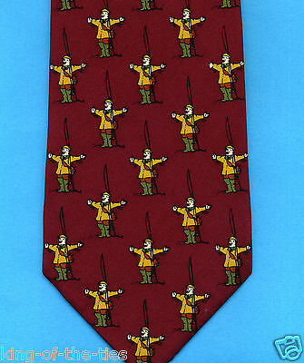 FREE P&P* 100% Silk - 'It was this BIG!' Fishing Angling Novelty Fun Tie   #2165