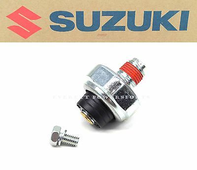 New OEM Suzuki Oil Pressure Sending Switch Many 250-1800cc Models See Note #Q76