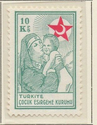 TURKEY;  1940 early Child Welfare issue fine Mint hinged 10k value
