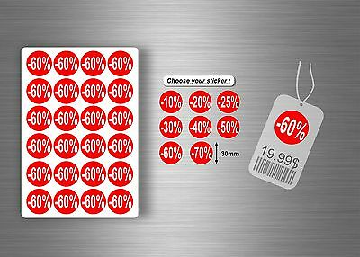 Sale price stickers labels sticky promotional reduced tag display point of sales