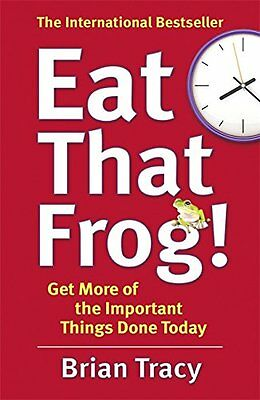 Eat That Frog!  Brian Tracy Paperback Book