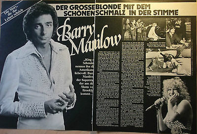 2 german clipping BARRY MANILOW NOT SHIRTLESS GAY INT. BETTE MIDLER BOYS BOY