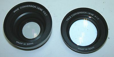 Objektive Retro Wide Conversion Lens x 0,7 Tele Conversion Lens 14 Sammler