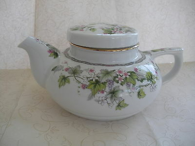 Andrea by Sandek     Decorative Muti Flower Teapot      Japan