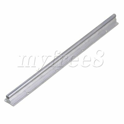 CNBTR L400mm 10mm Shaft Dia Linear Bearing Support Rail CNC Linear Motion