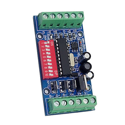 DMX512 Decoder 15A RGB Controller LED Stage lighting Driver Mini Board 3 Channel