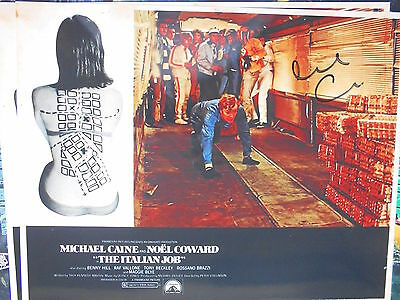 THE ITALIAN JOB  personally signed 14x11 - MICHAEL CAINE