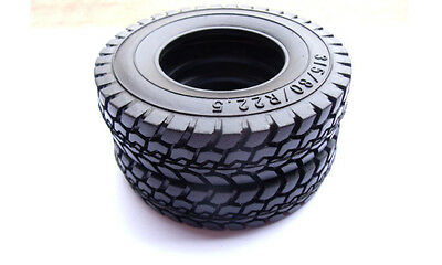 1Pc/Single Pc 1:14 Rubber Tires For RC Tamiya Tractor Truck Trailer Climbing Car