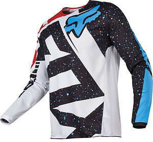 2017 Fox Racing YOUTH 180 Nirv Jersey Motocross MX Off Road RED/WHITE 17267-054