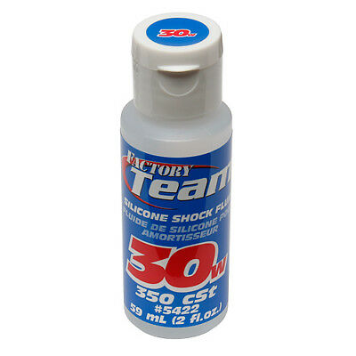 RC 100% Silicone Shock Fluid 30wt by Team Associated x1 59ml for RC Shocks