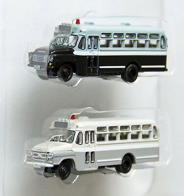 """Tomytec The Bus Collection """"2 Bus Set C"""" 1/150 N scale"""