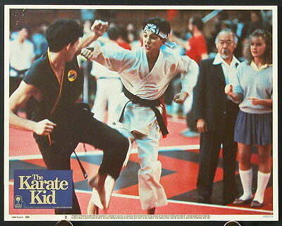 The Karate Kid (1984) US Lobby Cards