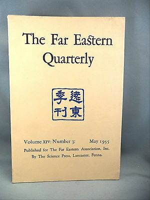 The Far Eastern Quarterly Review of Eastern Asia Pacific Island 1955 Report Book