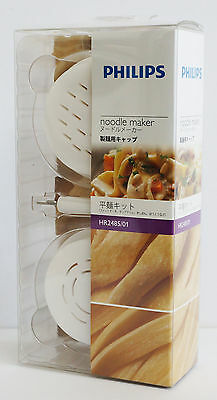 GENUINE Philips HR2485/01 Noodle Maker Attachment Flat Noodles Kit (NEW IN BOX)