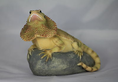 5 inch BEARDED DRAGON/LIZARD/REPTILE, GIFT FOR ANIMAL LOVER, VIVARIUM DECORATION