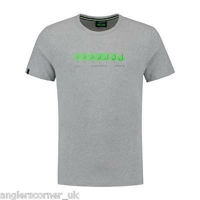 Korda Hook Spec T-Shirt Heather Grey / Clothing / Fishing