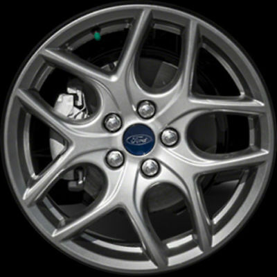 """OEM 17"""" 2015 2016 Ford Focus Painted Silver Alloy Wheel Rim"""