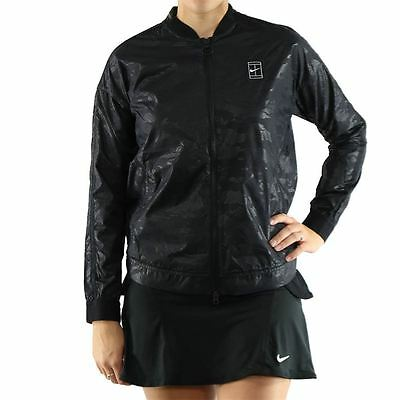 NWT NIKE Court bomber jacket L for US OPEN $200 water repellant women's black