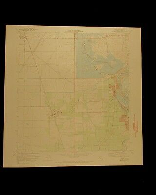 Biggs California vintage 1973 old USGS Topo chart