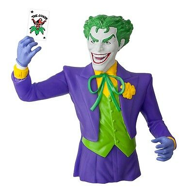 Batman The Joker DC Comics Licensed Bust Bank Piggy Bank