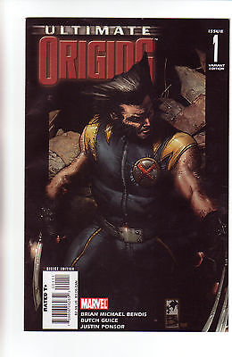 Ultimate Origins 1 (Nm- 9.2) Simone Bianchi Cover Variant (Free Shipping) *