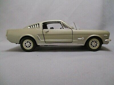 Ac558 Solido Hachette Ford Mustang Fastback 1965 1/18 Voiture Prestige Fascicule
