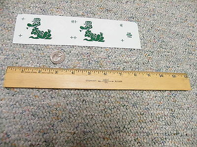 Herald King decals Large Scale G S O  Gauge Bayou Division Gator Alligator   P4