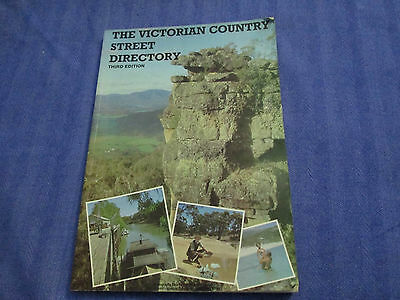 Victorian Country Street Directory 3rd Edition Maps Australia