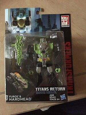 Transformers Generations - Titans Return - Deluxe Class - Hardheaded - Furos