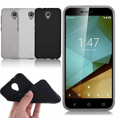 Slim Soft TPU Gel Skin Back Case Cover For Vodafone Smart Prime 6 7 / Ultra